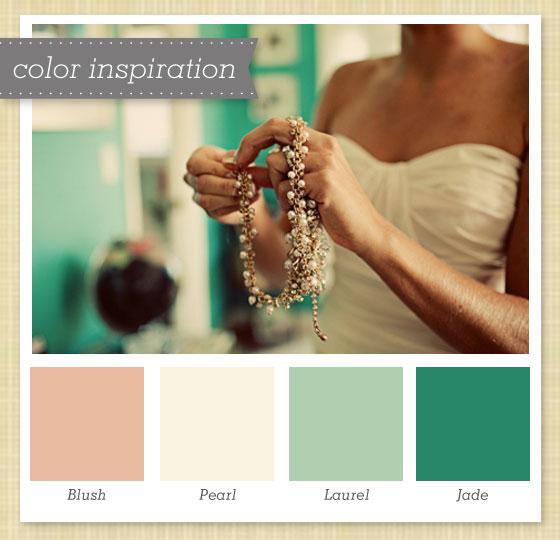 Green Color Palette Color Green Ivory Pink