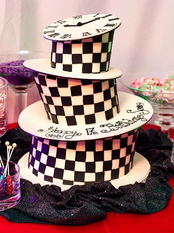 Sarah Hearts - Alice in Wonderland Teen Birthday Party