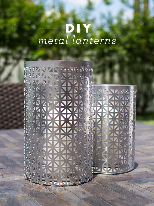 sarah hearts diy outdoor metal lantern