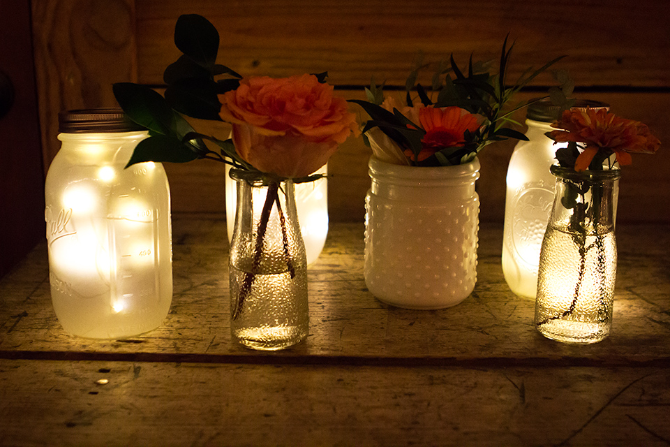 Sarah Hearts Led Mason Jar Lights