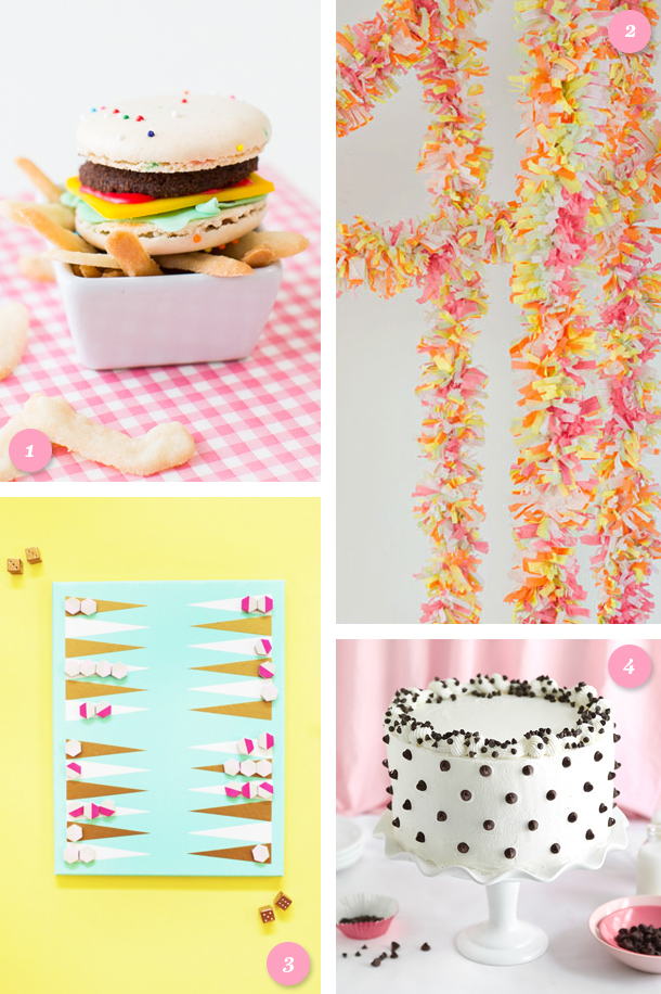 Add some fun to your next party with one of these fun DIYs or recipes. (Click through for links to each project and recipe)